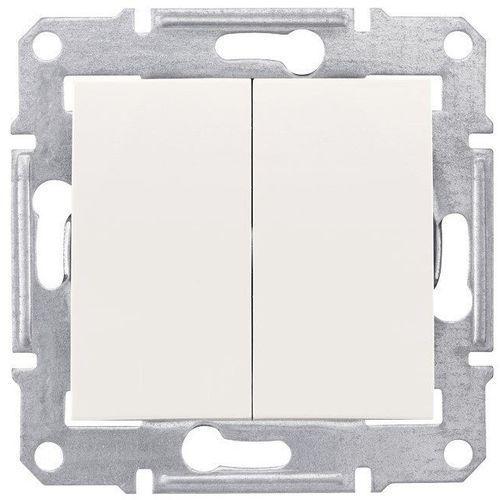 Schneider electric Sedna wyłącznik 2 podwójny schodowy kremowy sdn0600123 schneider (8690495032796)