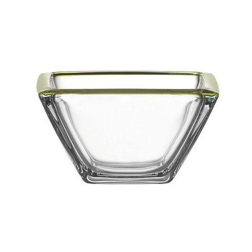 Miska szklana Corner 12,5 cm Leonardo zielona, 045404