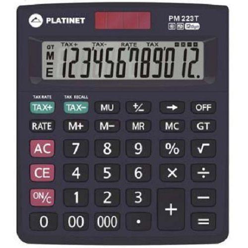 Kalkulator pm223t 12d tax 40468 marki Platinet