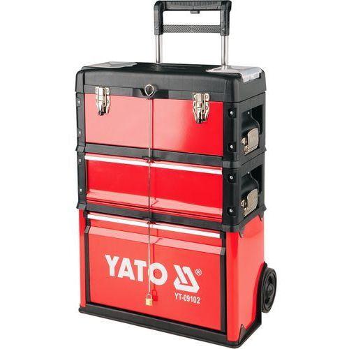 Yato Szafka narzędziowa modułowa na kółkach yt-09102 - odbiór w 2000 punktach - salony, paczkomaty, stacje orlen (5906083091025)