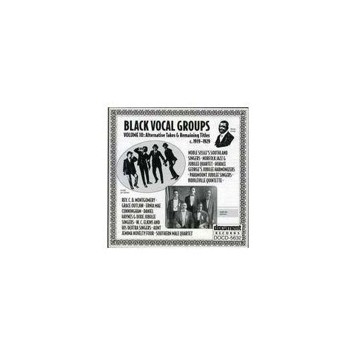 Document records Black vocal groups vol. 10 (0714298563221)