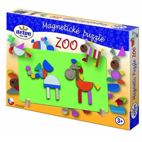 Detoa magnetyczne puzzle, zoo
