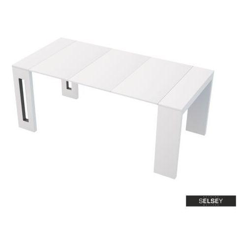 włoski stół rozkładany roma biały marki Selsey