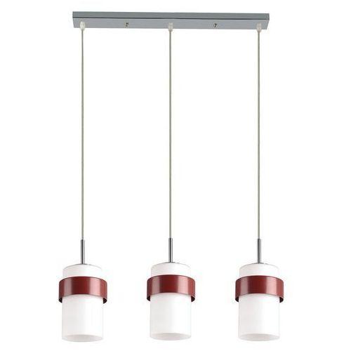 Lampa wisząca lp-866/3p miele bordo + darmowy transport! marki Light prestige