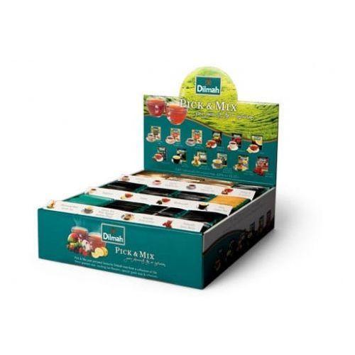 Dilmah 240x2g zestaw 12 rodzajów herbat ekspresowych