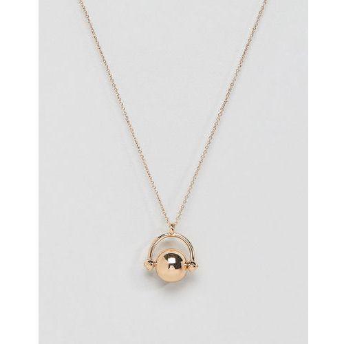 Pieces pendant necklace - gold