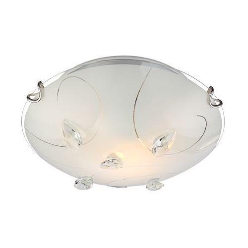 Plafon oprawa lampa sufitowa Globo Alivia 1x60W E27 biały matowy 40414-1