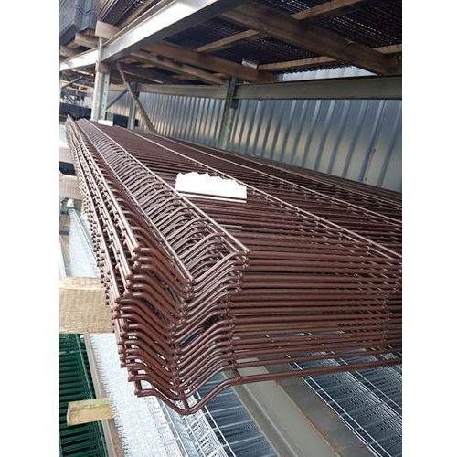 Panel ogrodzeniowy brązowy Fi4 1530x2500 mm
