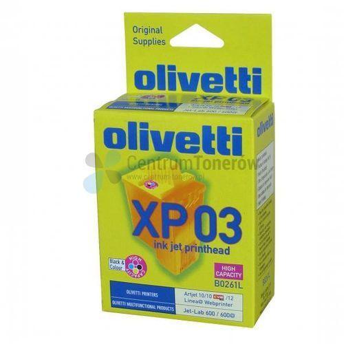 oryginalny ink b0261, cmyk, 260s, olivetti artjet 10, 12, 22, ofx-800, jet-lab 600 marki Olivetti