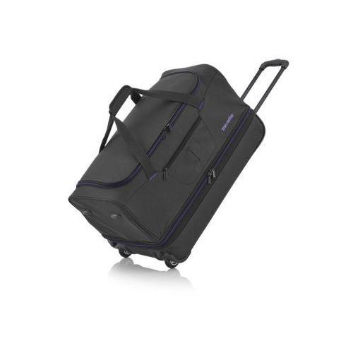 Basics mała torba podróżna poszerzana czarna