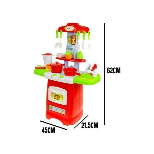 Duża kuchnia + Akcesoria 24 el. Mały Kucharz 889-50 (5902921969693)