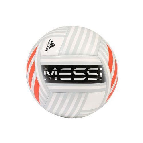 Adidas performance messi glider piłka do piłki nożnej white/grey/black