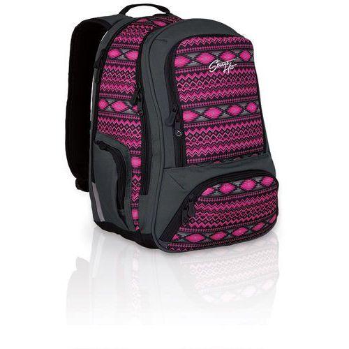 Topgal Plecak młodzieżowy  hit 822 h - pink (8592571004829)