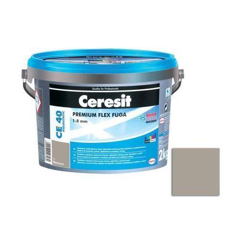 Fuga cementowa wodoodporna ce40 jasno szary 2 kg marki Ceresit