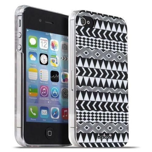 Meliconi etui Geometric iPhone 4/4s (8006023205271) Darmowy odbiór w 20 miastach! z kategorii Futerały i pokrowce do telefonów