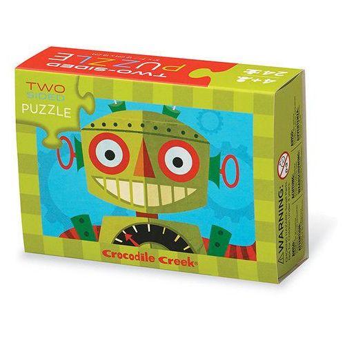 Puzzle dwustronne roboty 24 marki Crocodile creek