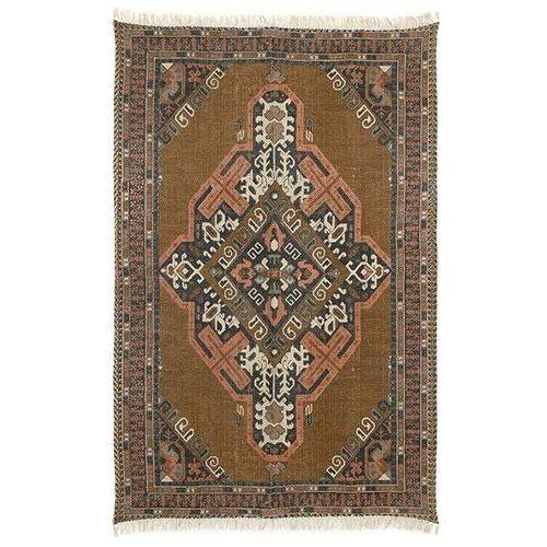 dywan z nadrukiem bawełniany/z juty (180x280) ttk3026 marki Hkliving