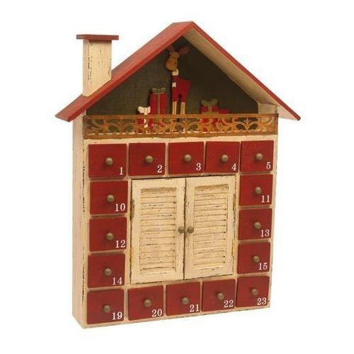 Kalendarz adwentowy Zimowy domek