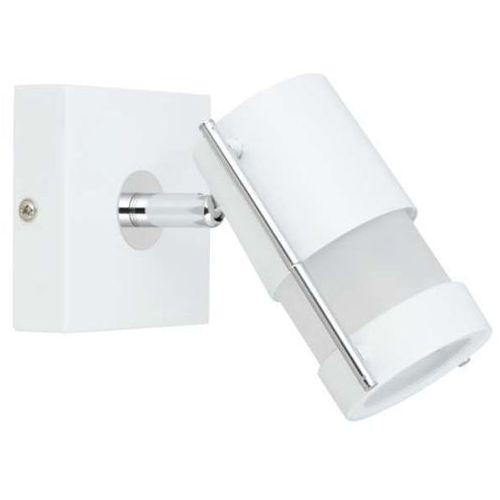 Kinkiet LAMPA ścienna BARI 1LP-748/1W Light Prestige nowoczesna OPRAWA reflektorek regulowany SPOT tuba biała, LP-748/1W