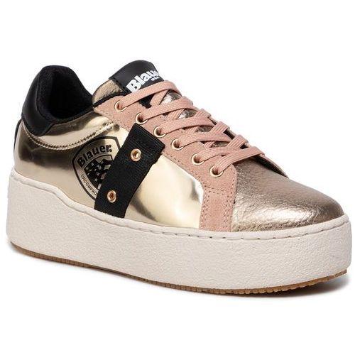 Blauer Sneakersy - 9fmadeline02/lam platinum