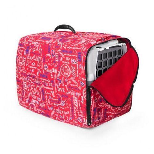 Ocieplacz na transporter love - 2 czerwony marki Chaba