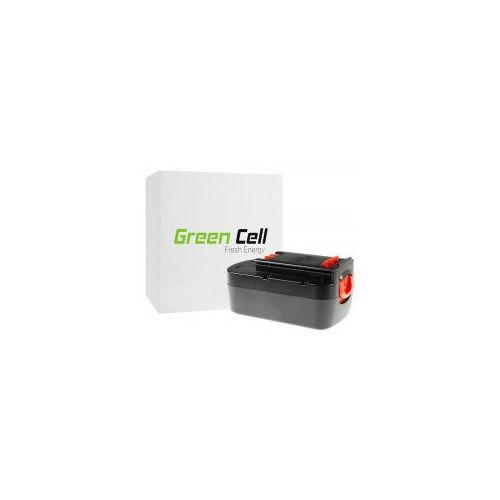 Green cell Bateria akumulator do elektronarzędzi black&decker 18v 3ah