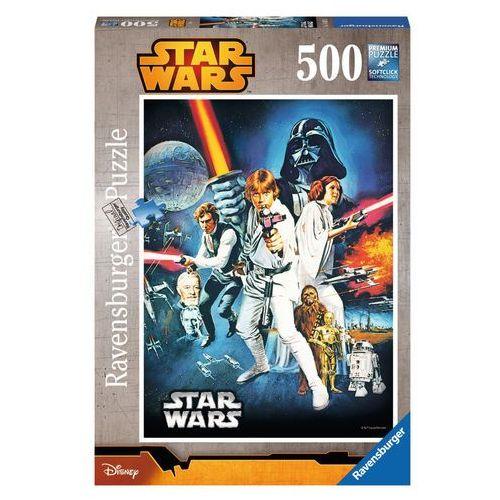 Puzzle 500 elementów - Star Wars: Nowa nadzieja (4005556146628)