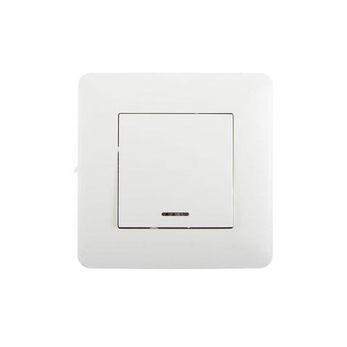 Przycisk pojedynczy ARTEZO biały HBF (5906660074281)