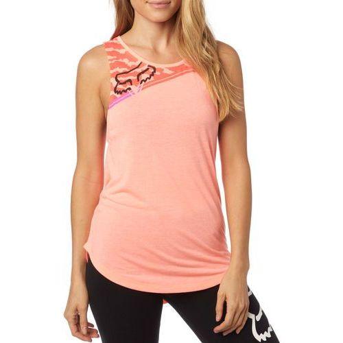 Fox  koszulka bez rękawów damska activated muscle l łososiowy