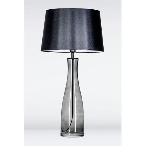 4concepts Lampa oprawa stołowa amsterdam anthracite 1x60w e27 czarny/biały l211174247 (5901688142820)