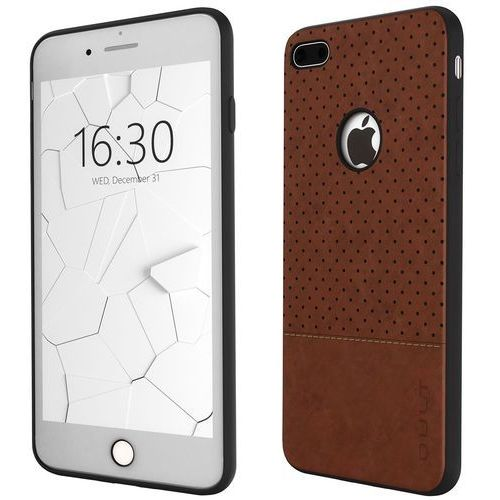 Etui QULT Back Case Drop iPhone 6/6S Plus Brązowy