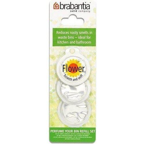 Brabantia Zapach do kosza na śmieci perfume your bin kwiatowy 3 szt. (8710755482083)
