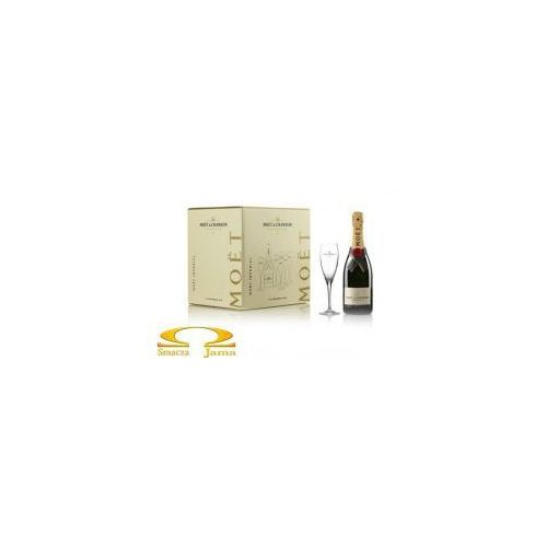 Szampan imperial gift box 0,75l x6 + 6 kieliszków marki Moët & chandon