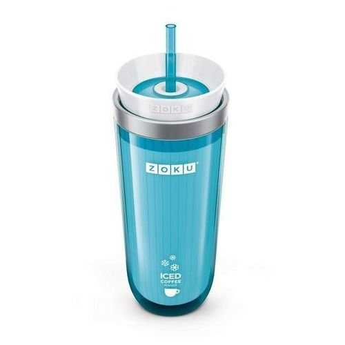 Zoku Kubek termiczny iced coffee maker turkusowy odbierz rabat 5% na pierwsze zakupy