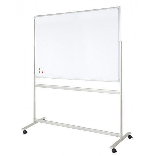 2x3 Tablica obrotowa mobilna suchościeralna lakierowana - magnetyczna 150 x 100