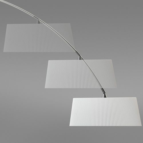 Leds-c4 hoop lampa stojąca biały, 1-punktowy - nowoczesny - obszar wewnętrzny - hoop - czas dostawy: od 2-3 tygodni (8435381403270)