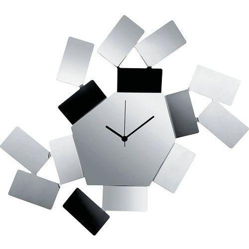 Zegar ścienny La Stanza dello Scirocco stal polerowana