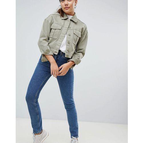 Weekday Way High Waist Skinny Jeans - Blue, jeans