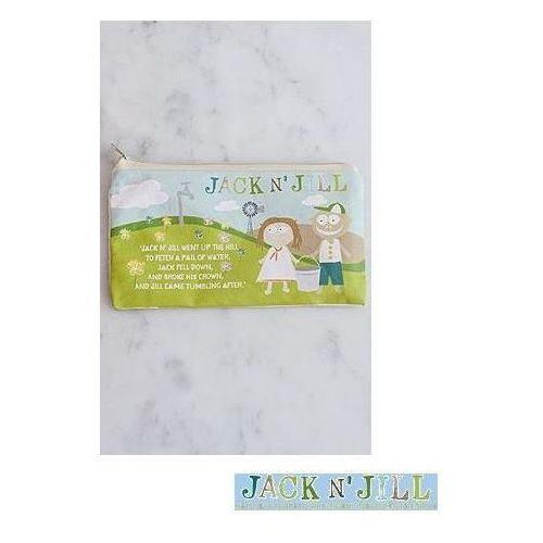 JACK AND JILL KIDS Bawełniana saszetka na akcesoria do mycia ząbków - produkt z kategorii- Pozostałe przybory i akcesoria higieny