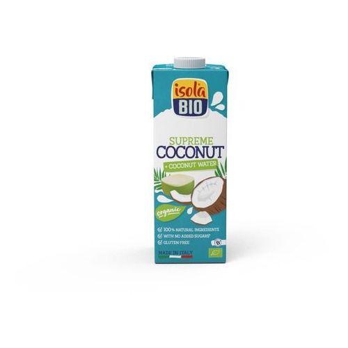Napój kokosowy z wodą kokosową bezglutenowy BIO 1 l Isola Bio (8023678728269)
