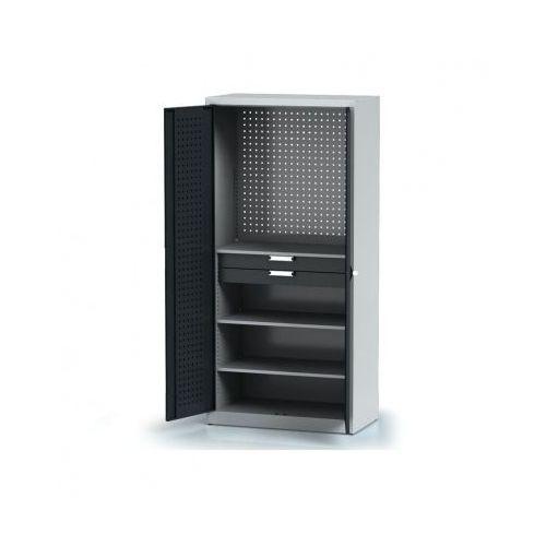 Szafa warsztatowa - 3 półki, 2 szuflady marki Alfa 3