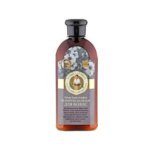 Babuszka agafia szampon-balsam do włosów (łaźnia agafii) 350ml wyprodukowany przez Pierwoje reszenie, rosja