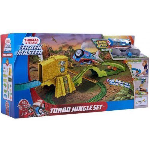 zestaw tomek i przyjaciele turboskok - ucieczka z dżungli zestaw marki Mattel