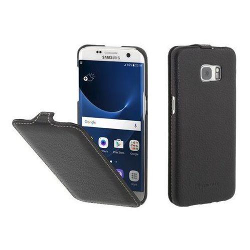 Stilgut UltraSlim Czarne | Etui z klapką dla modelu Samsung Galaxy S7 Edge