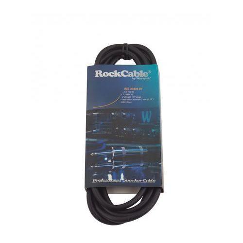 RockCable przewód głośśnikowy - straight TS Plug (6.3 mm / 1/4) - 3 m / 9.8 ft.