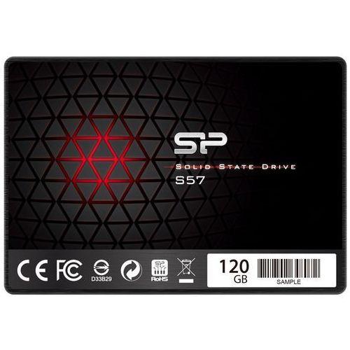 Dysk SSD Silicon Power S57 120GB SATA3 (SP120GBSS3S57A25) Darmowy odbiór w 20 miastach! (4712702653540)