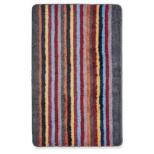 Dywaniki łazienkowe w kolorowe paski kolorowy marki Bonprix