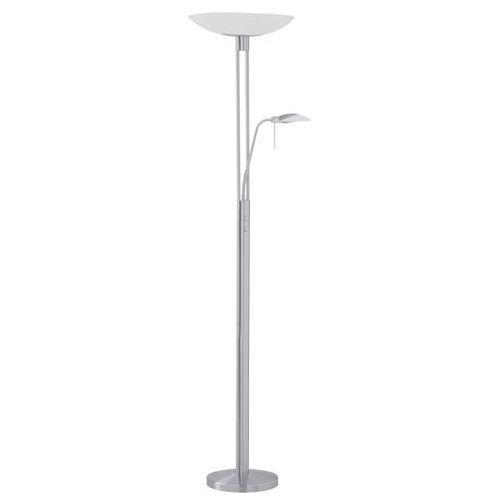 EGLO 85971 - Lampa podłogowa BAYA matowy nikiel/satyna