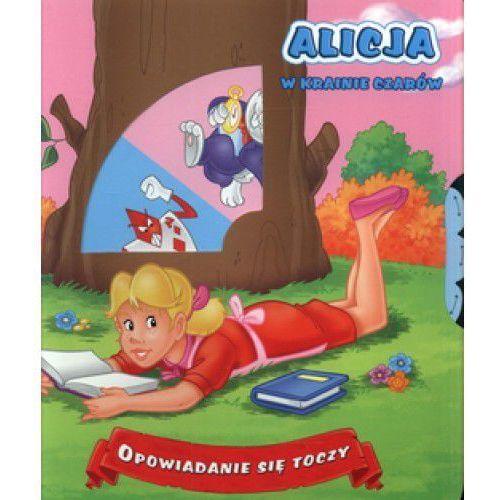 Opowiadanie się toczy Alicja w krainie czarów., oprawa kartonowa