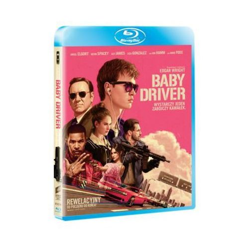 Imperial cinepix Baby driver (blu-ray) - edgar wright (5903570073106)